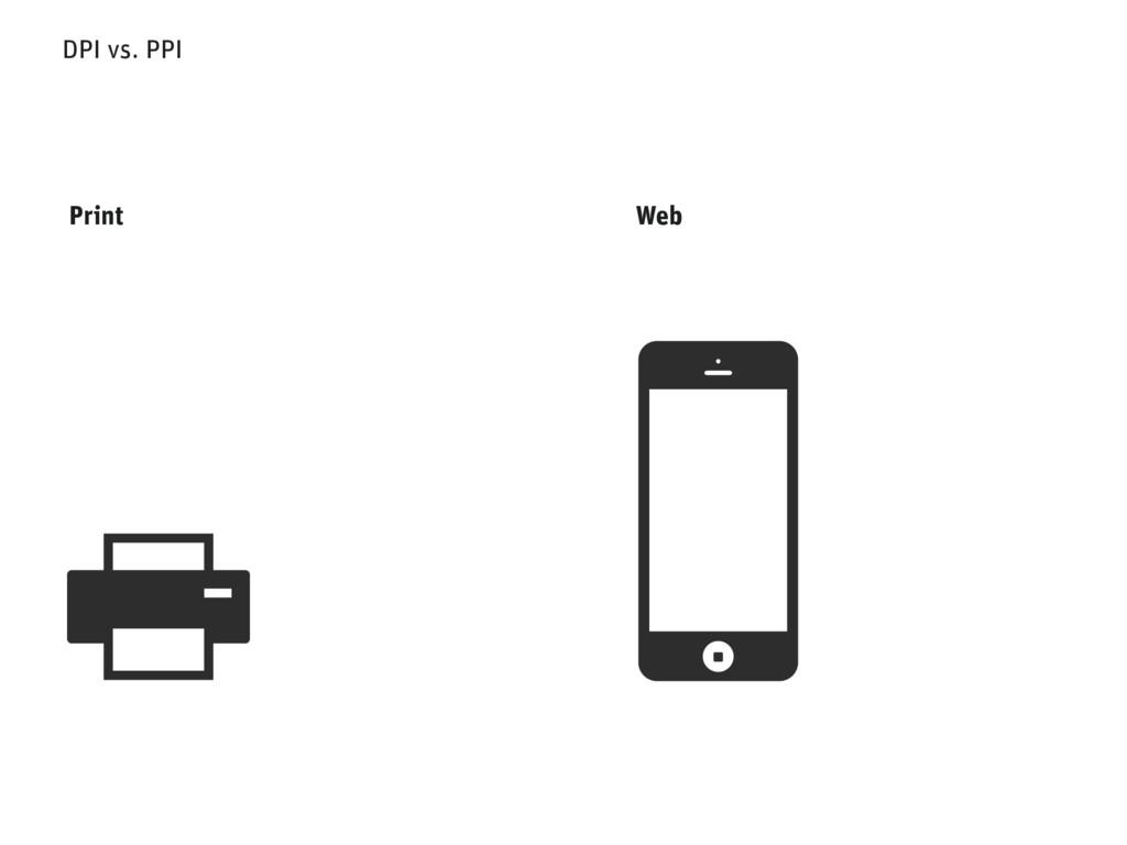 DPI vs. PPI Web Print
