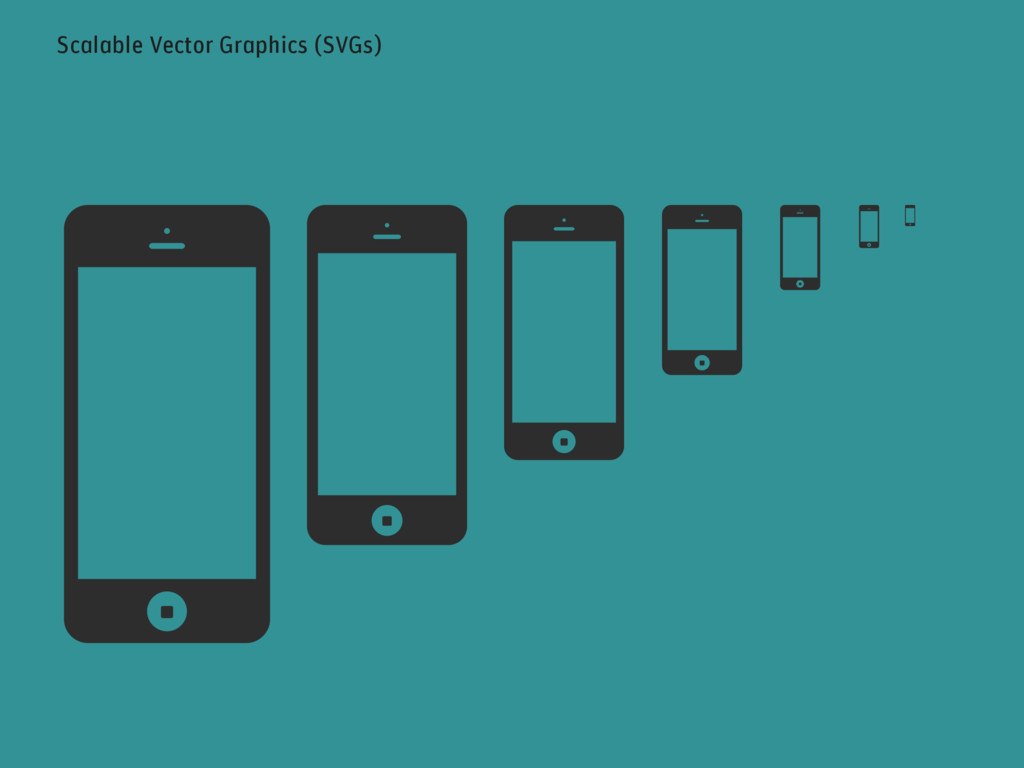 Scalable Vector Graphics (SVGs)