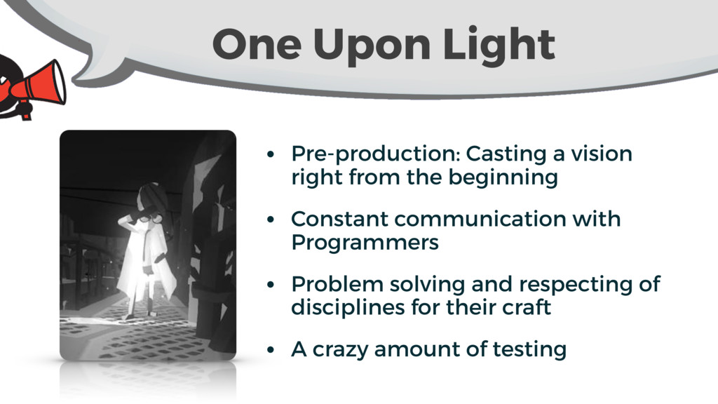 One Upon Light • Pre-production: Casting a visi...
