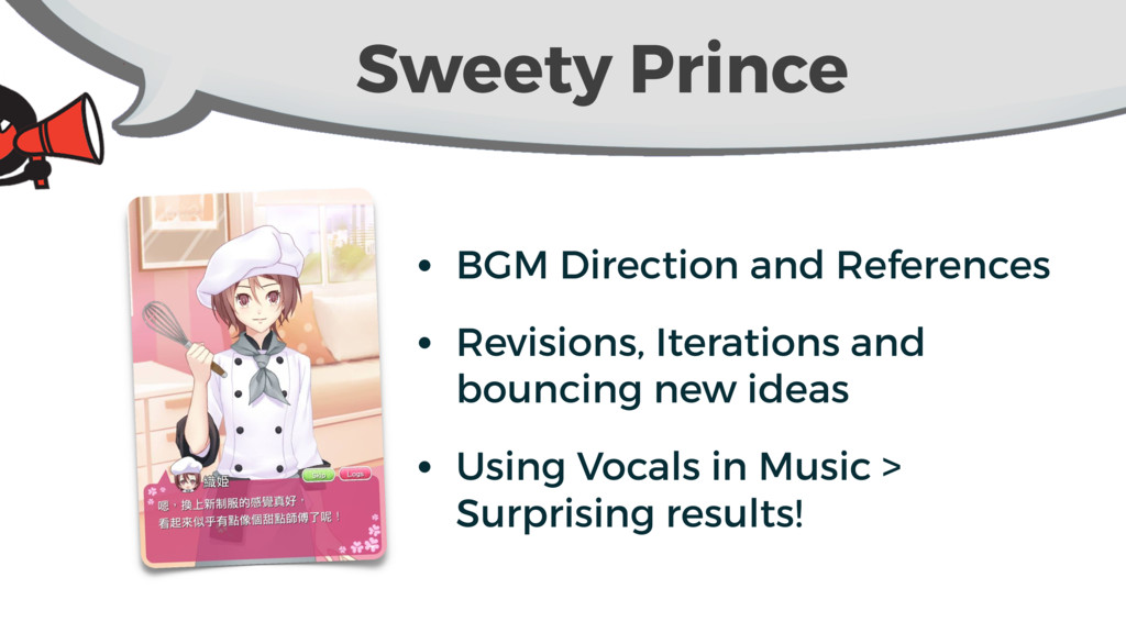 Sweety Prince • BGM Direction and References • ...