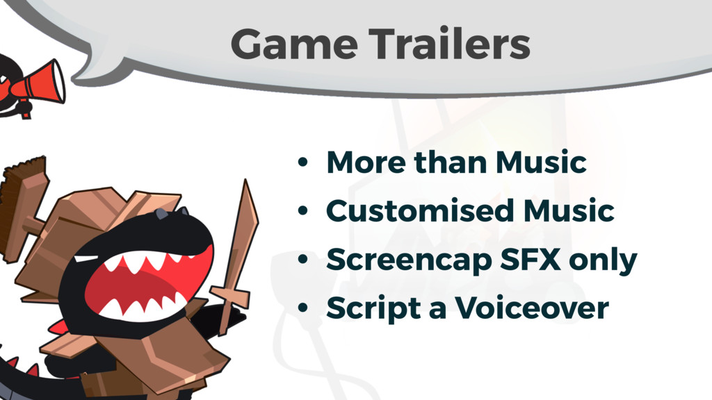 Game Trailers • More than Music • Customised Mu...