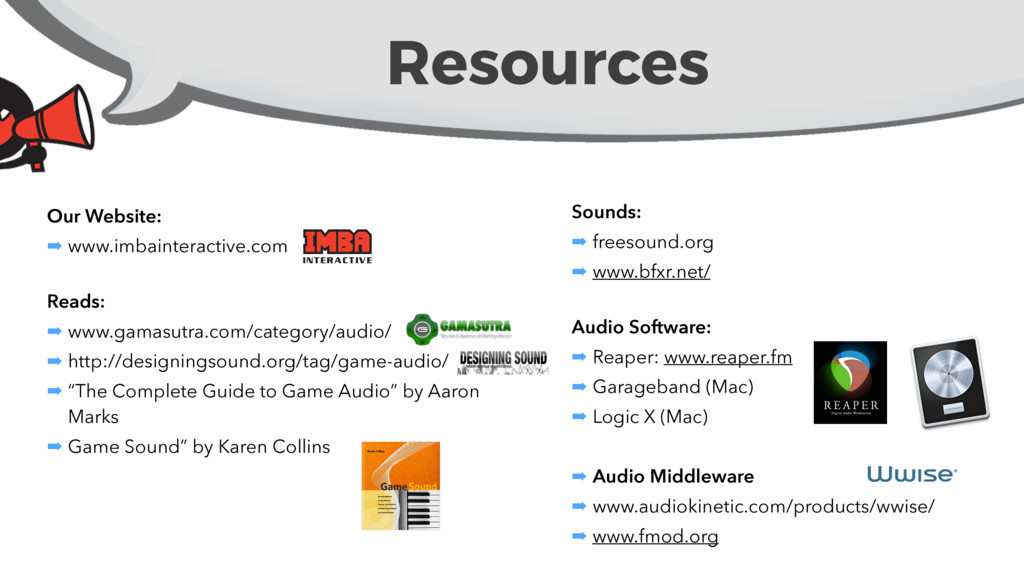 Resources Our Website: ➡ www.imbainteractive.co...