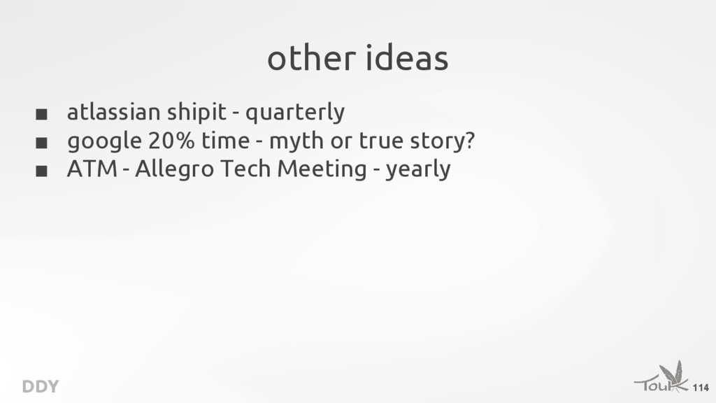 DDY other ideas ■ atlassian shipit - quarterly ...