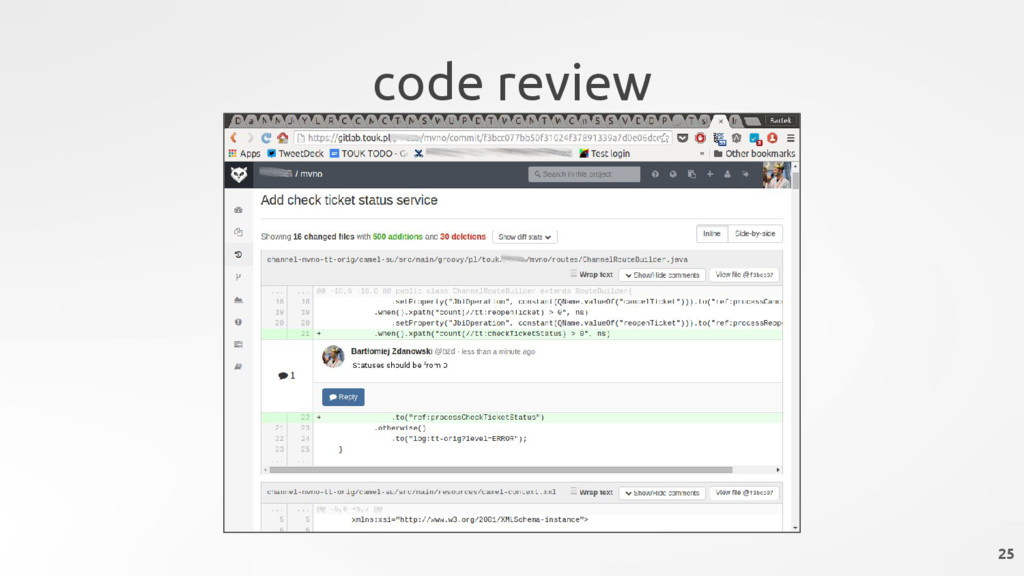 code review 25