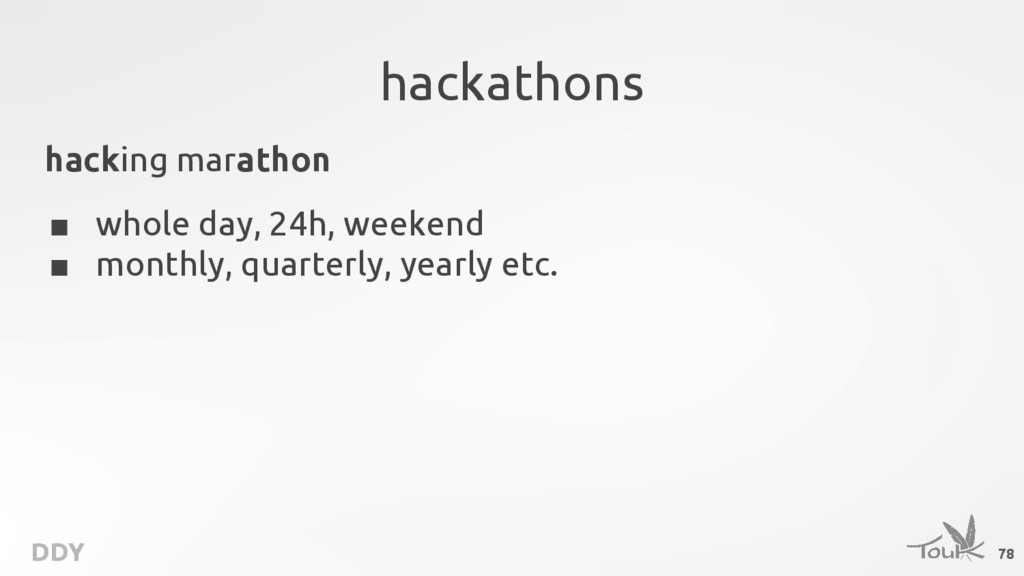 DDY hackathons hacking marathon ■ whole day, 24...
