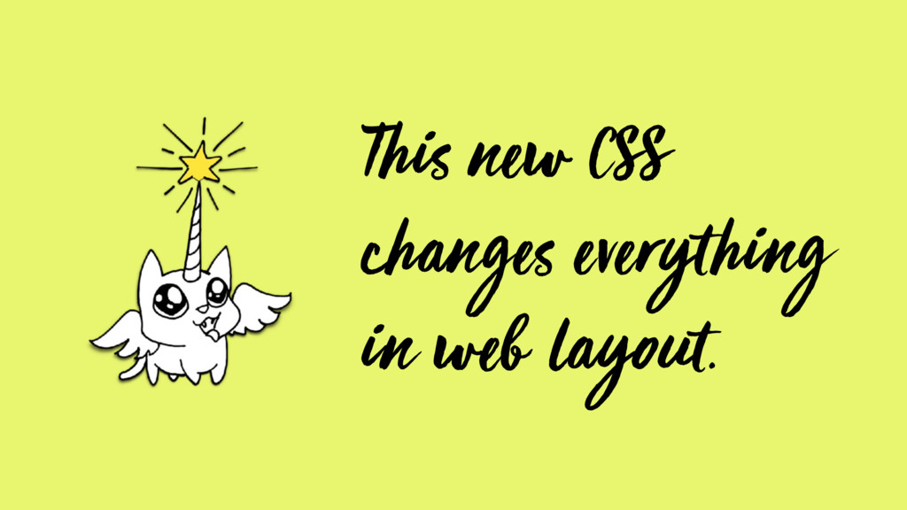 This new CSS changes everything in web layout.
