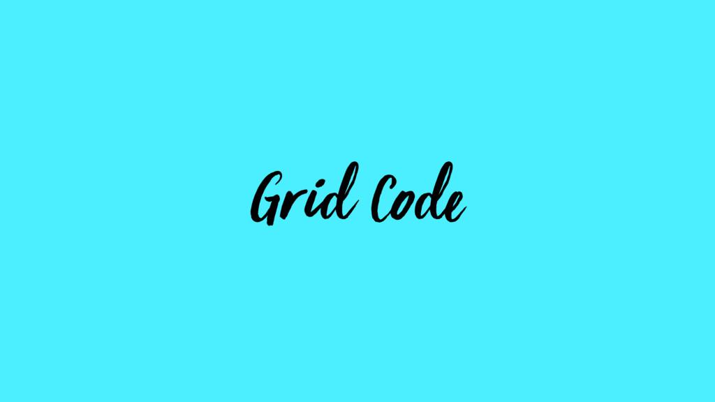 Grid Code