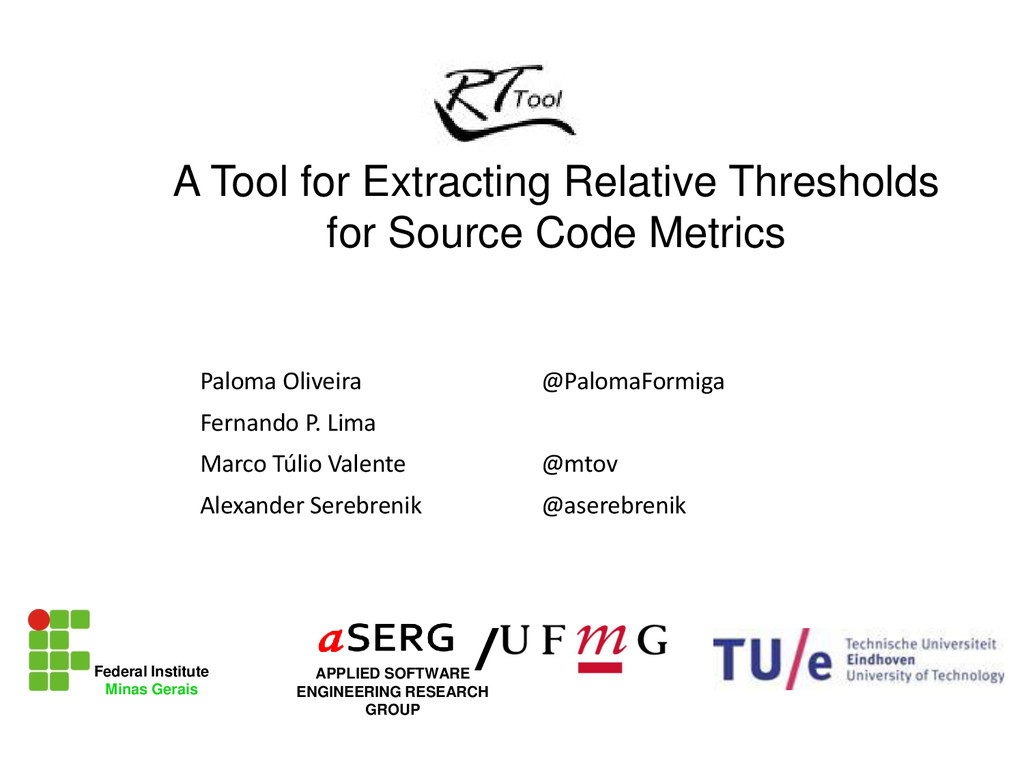A Tool for Extracting Relative Thresholds for S...