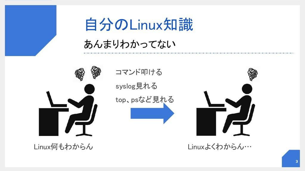 自分のLinux知識 あんまりわかってない 3 Linux何もわからん  Linuxよ...