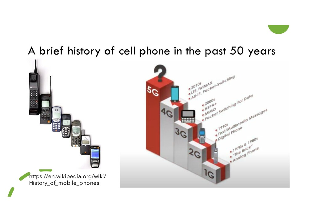 A brief history of cell phone in the past 50 ye...