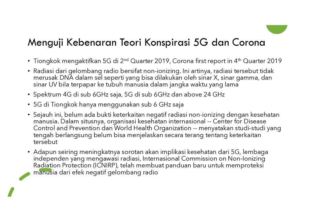Menguji Kebenaran Teori Konspirasi 5G dan Coron...