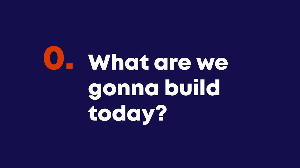 @JGFERREIRO @JGFERREIRO What are we gonna build...