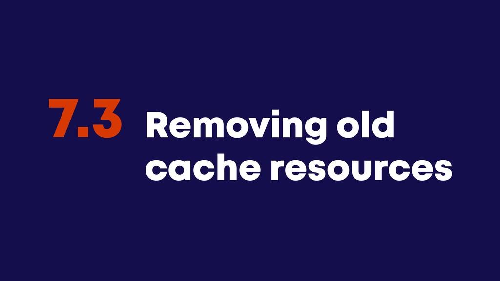 @JGFERREIRO @JGFERREIRO Removing old cache reso...