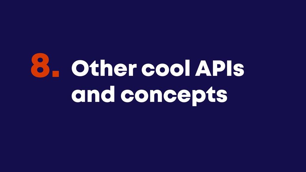 @JGFERREIRO @JGFERREIRO Other cool APIs and con...