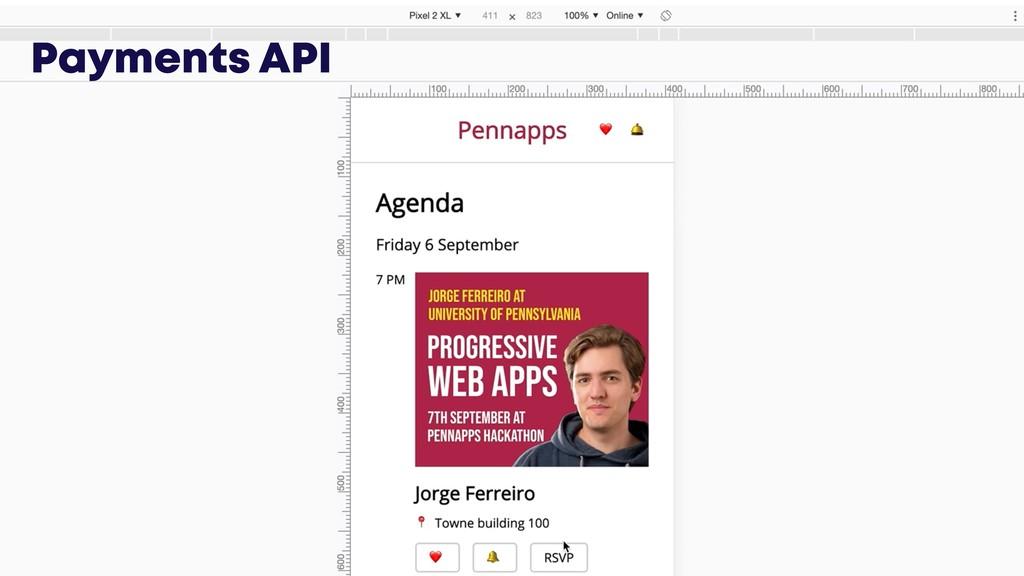 @JGFERREIRO Payments API