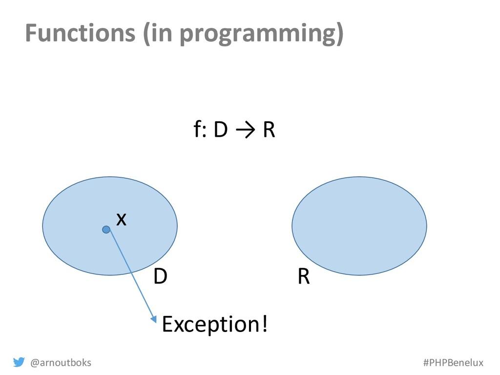 @arnoutboks #PHPBenelux Functions (in programmi...