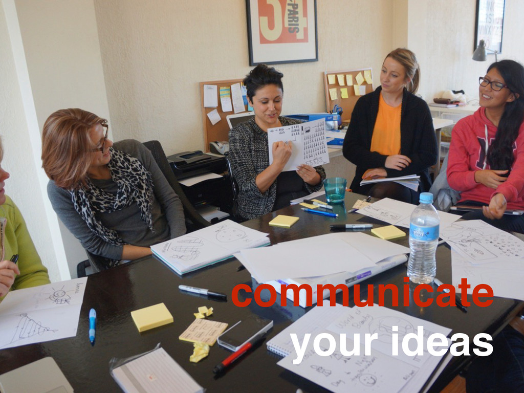 communicate your ideas