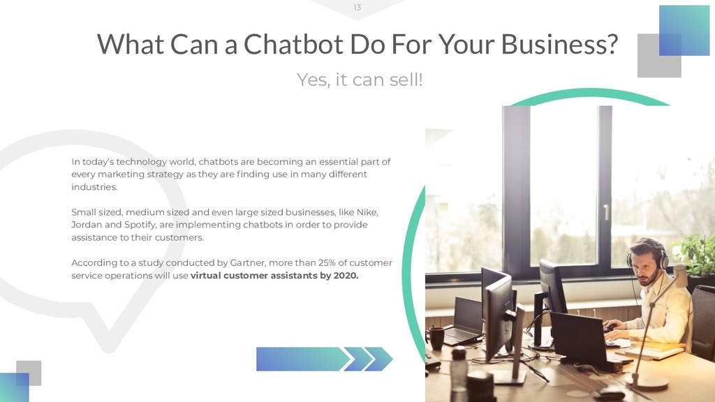What Can a Chatbot Do For Your Business? 13 Yes...