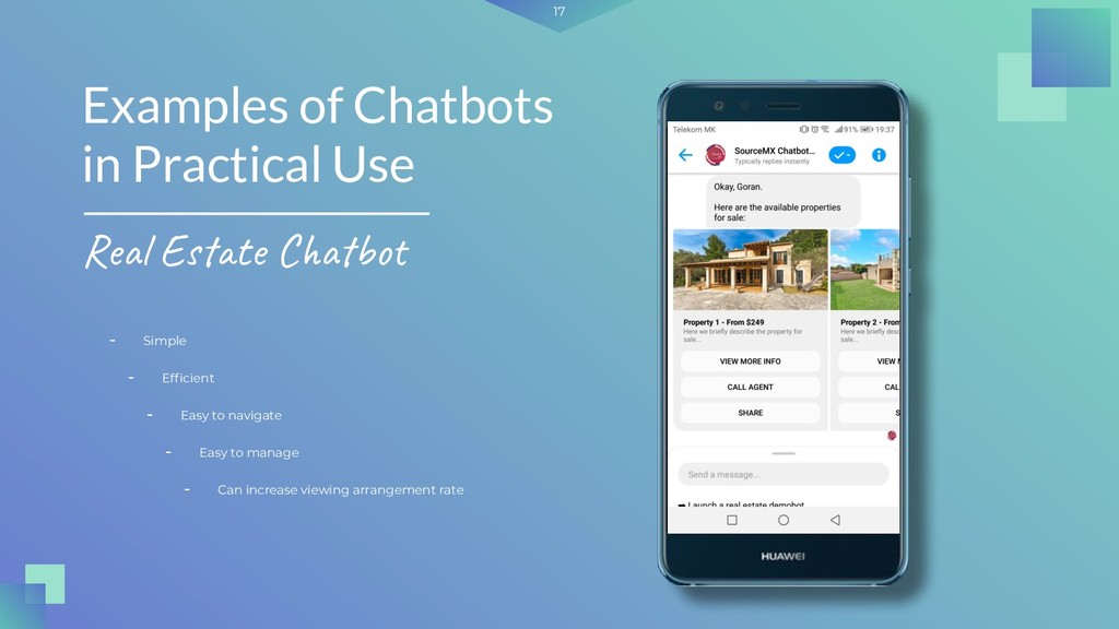 17 - Simple Examples of Chatbots in Practical U...