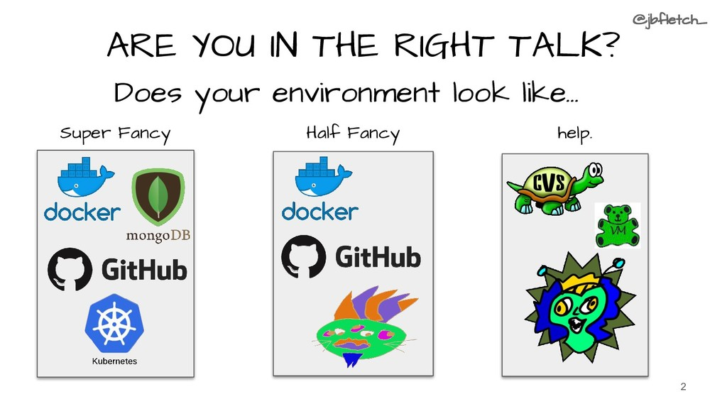 ARE YOU IN THE RIGHT TALK? Does your environmen...