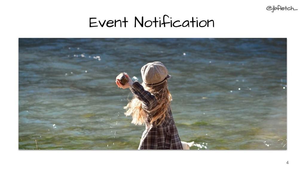 Event Notification 4 @jbfletch_