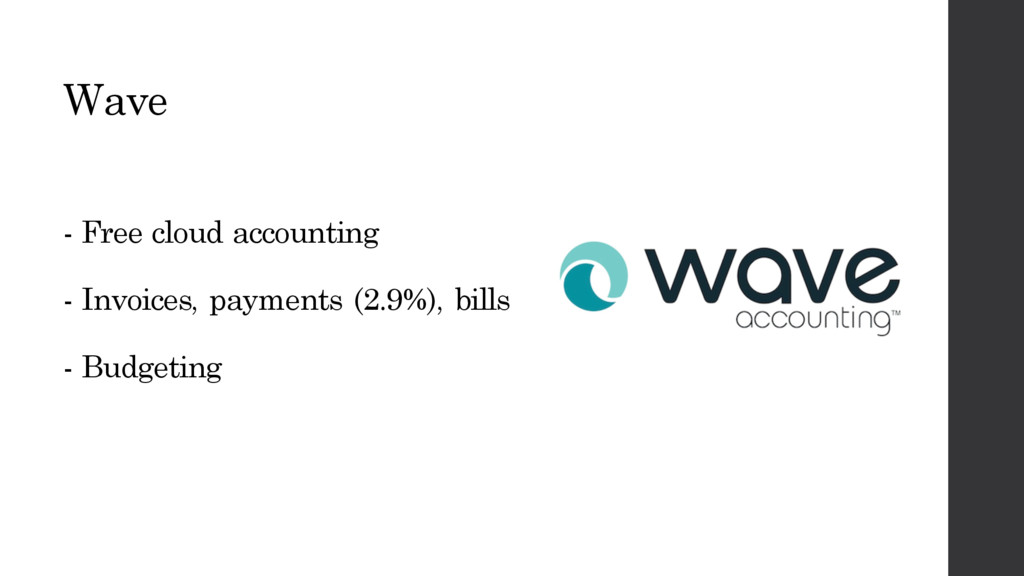 Wave - Free cloud accounting - Invoices, paymen...