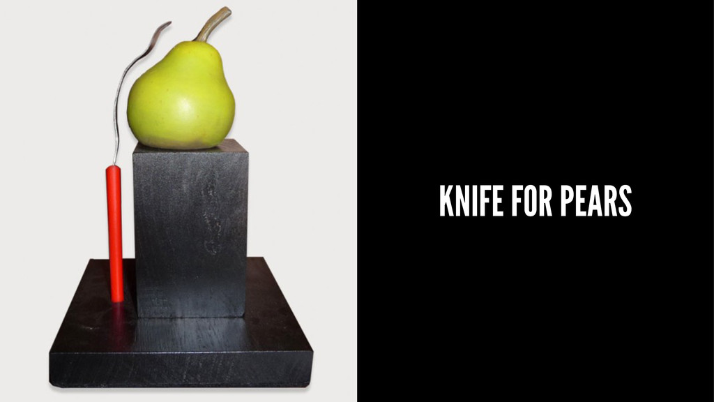 KNIFE FOR PEARS