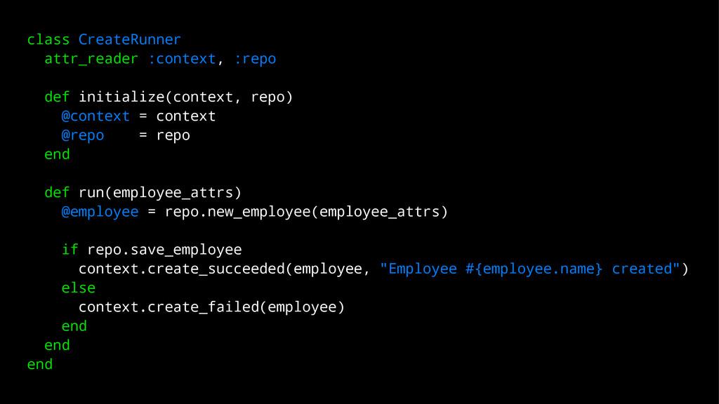 class CreateRunner attr_reader :context, :repo ...