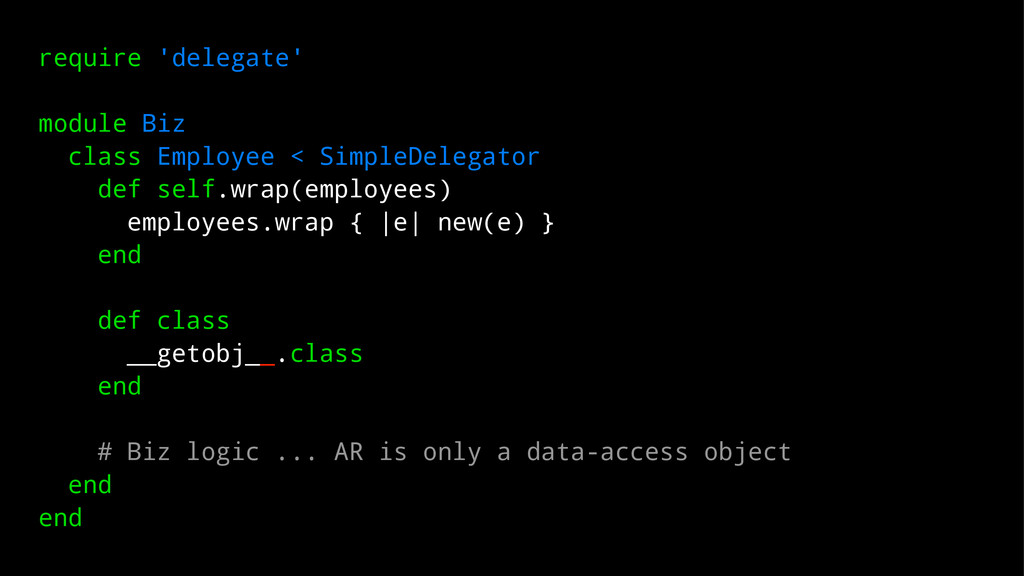 require 'delegate' module Biz class Employee < ...