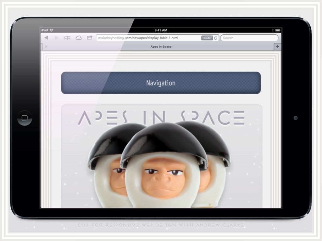CSS3 for responsive web design with ANDREW CLAR...