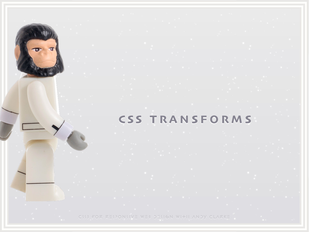 CSS3 for responsive web design with ANDY CLARKE...