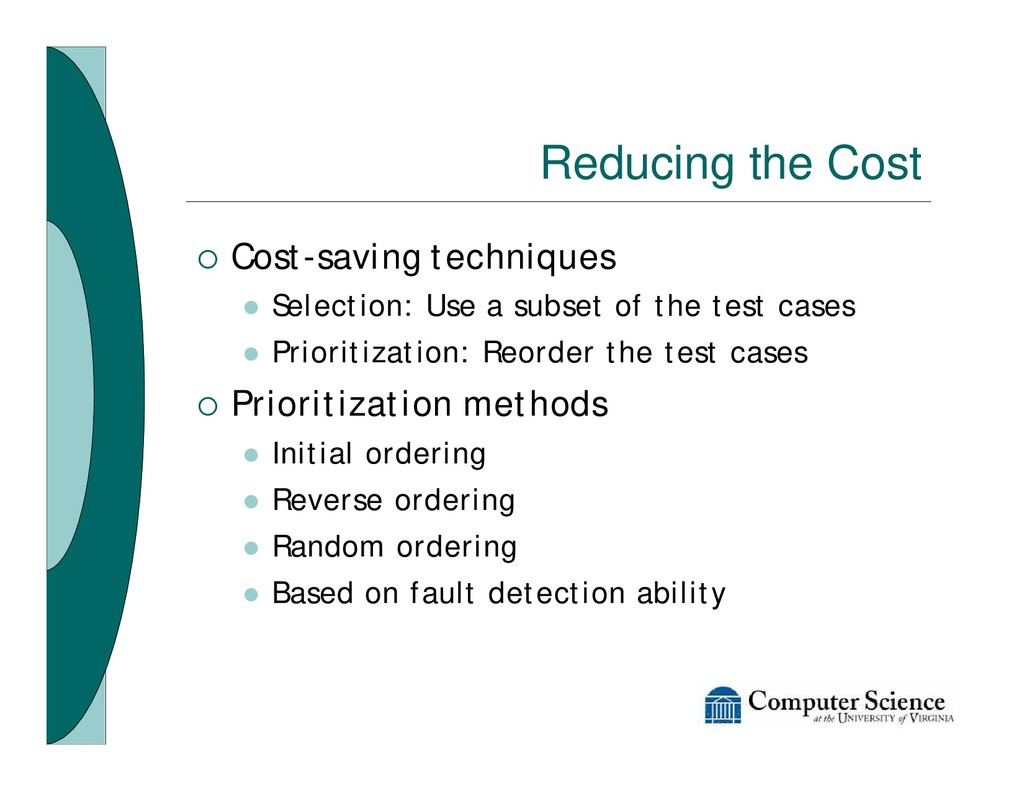 Reducing the Cost ¡ Cost-saving techniques l Se...