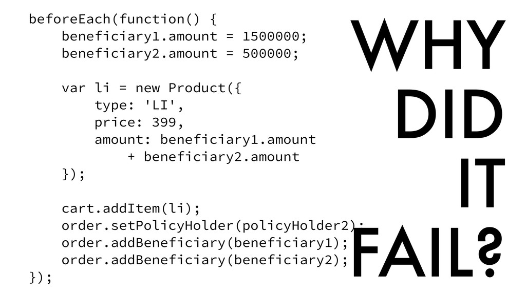 beforeEach(function() { beneficiary1.amount = 1...