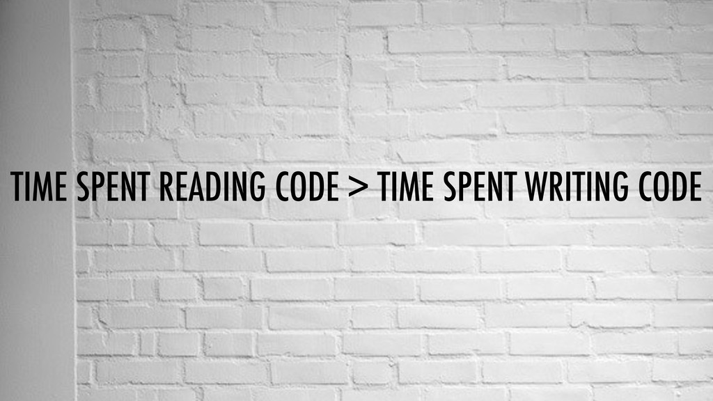 TIME SPENT READING CODE > TIME SPENT WRITING CO...
