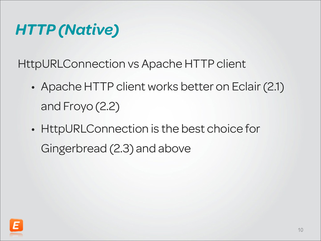 HTTP (Native) HttpURLConnection vs Apache HTTP ...
