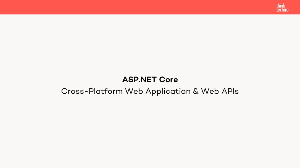 Cross-Platform Web Application & Web APIs ASP.N...