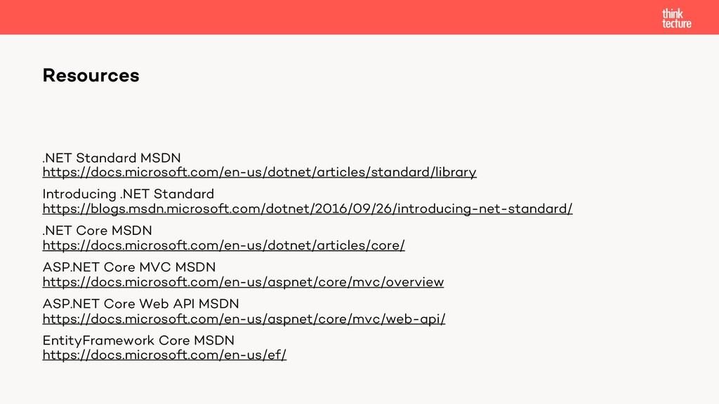 .NET Standard MSDN https://docs.microsoft.com/e...