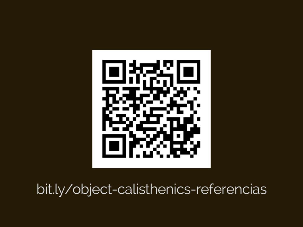 bit.ly/object-calisthenics-referencias