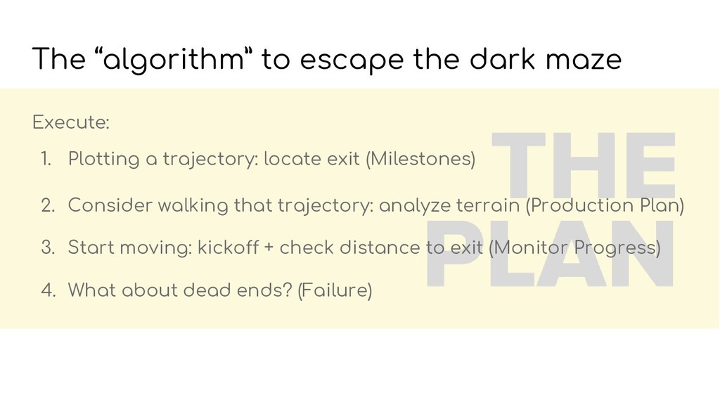 Execute: 1. Plotting a trajectory: locate exit ...