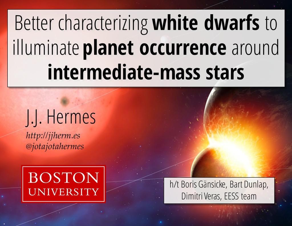 http://jjherm.es @jotajotahermes J.J. Hermes Be...