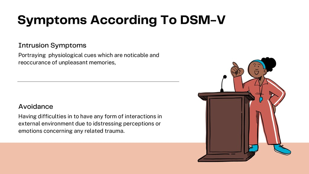 Symptoms According To DSM-V Portraying physiolo...