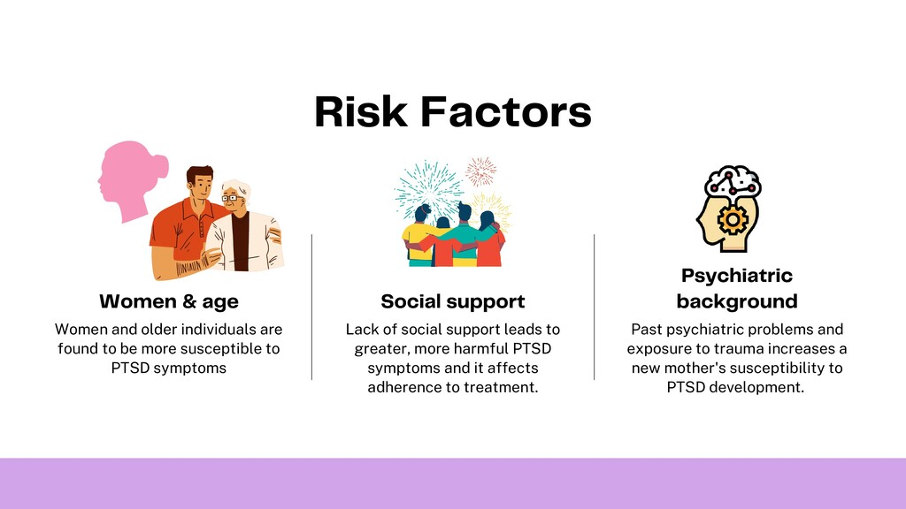 Risk Factors Women and older individuals are fo...