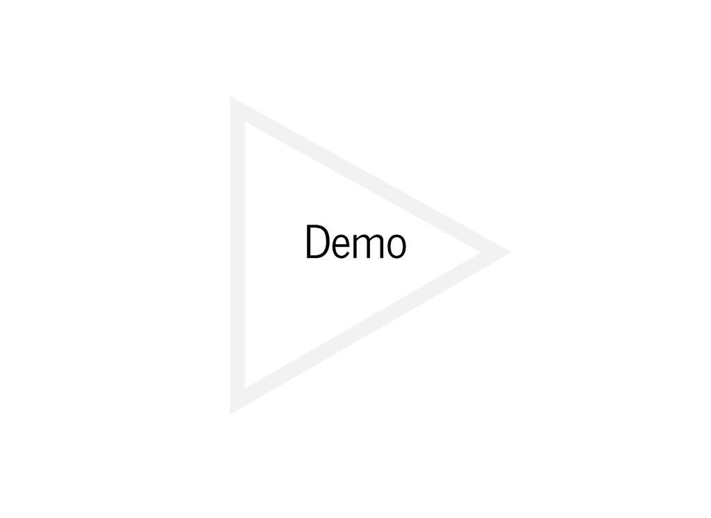 Demo Demo
