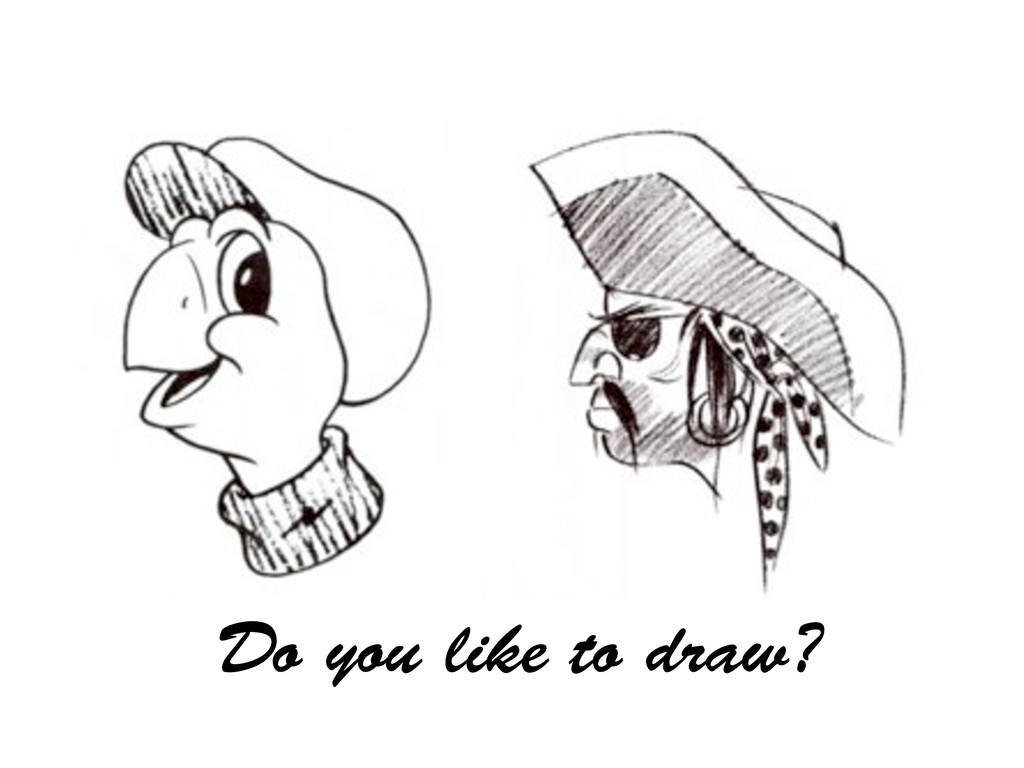 Do you like to draw?