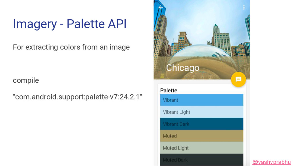 Imagery - Palette API For extracting colors fro...