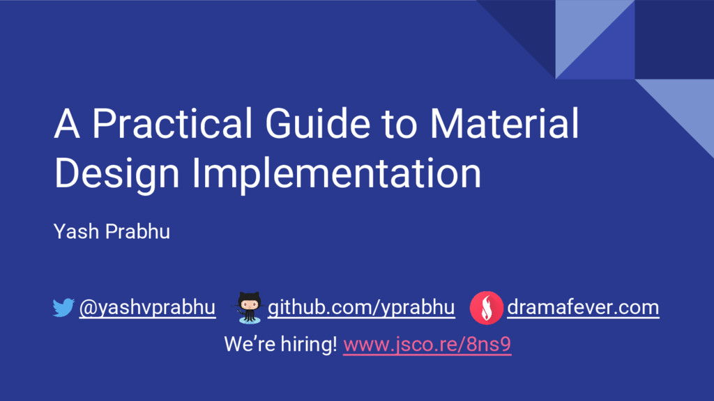 A Practical Guide to Material Design Implementa...