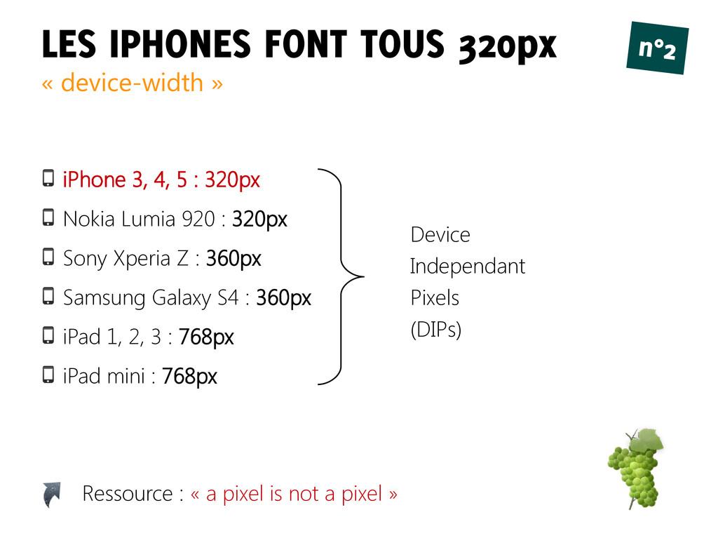 LES IPHONES FONT TOUS 320px n°2 « device-width ...