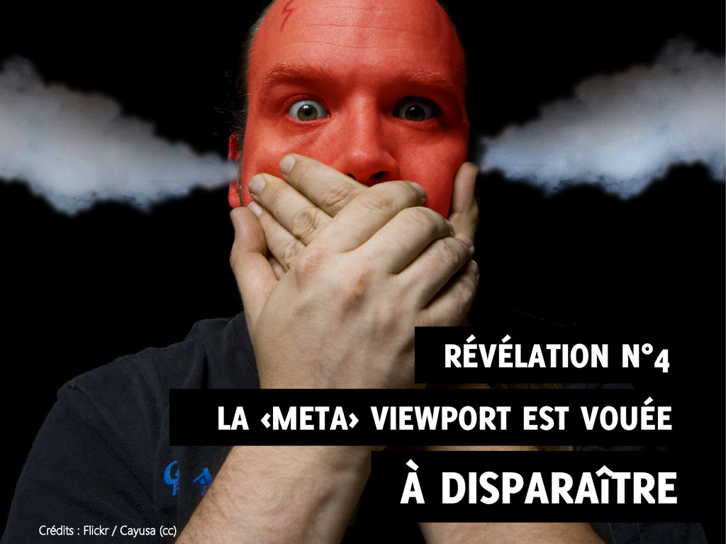 ALA <META> VIEWPORT EST VOUÉE À DISPARAîTRE RÉV...