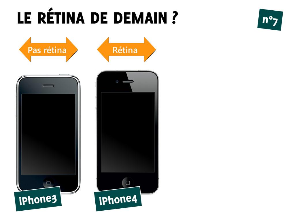 LE RÉTINA DE DEMAIN ? n°7 iPhone3 iPhone4 Pas r...