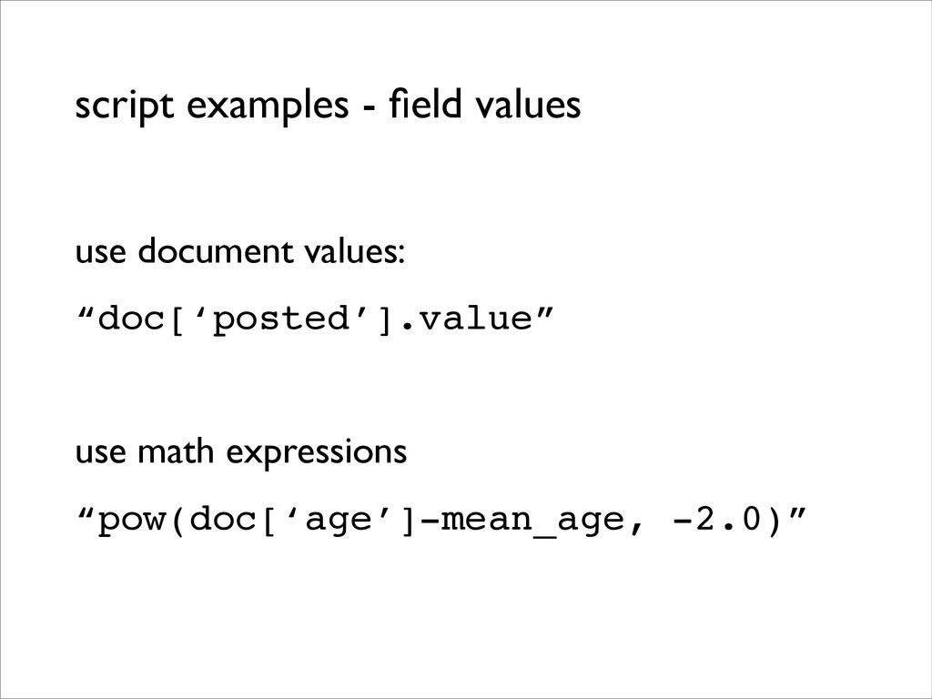 script examples - field values use document valu...